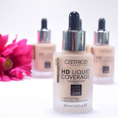 Kem nền Catrice HD Liquid Coverage Foundation (30ml)