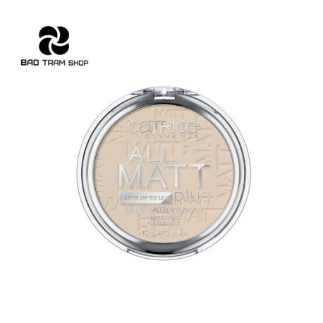 Bảo Trâm Shop - Phấn phủ Catrice All Matt Plus Shine Control Powder 10g