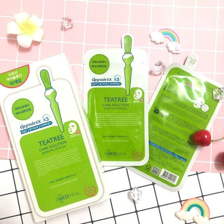 Mặt Nạ Mediheal Teatree Care Solution Essential Mask Ex