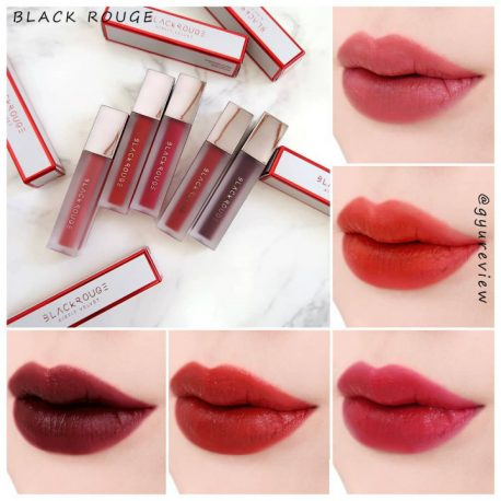 Bảng màu Son kem Black Rouge Air Fit Velvet Tint Ver 4 Bad Rose